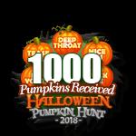 Halloween 2018 Pumpkins 1000