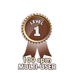 Multi-User 100cpm - Level 1