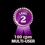 Multi-User 100cpm - Level 2