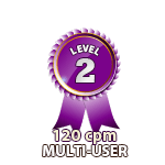 Multi-User 120cpm - Level 2