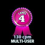 Multi-User 130cpm - Level 4
