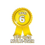 Multi-User 130cpm - Level 6