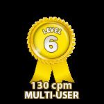 Multi-User 130cpm - Level 6