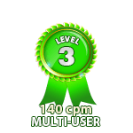Multi-User 140cpm - Level 3