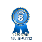 Multi-User 140cpm - Level 8