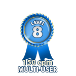 Multi-User 150cpm - Level 8