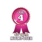 Multi-User 40cpm - Level 4