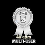 Multi-User 40cpm - Level 5