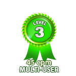 Multi-User 45cpm - Level 3