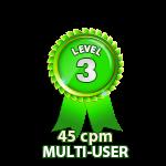 Multi-User 45cpm - Level 3