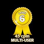 Multi-User 45cpm - Level 6