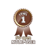 Multi-User 50cpm - Level 1