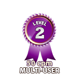 Multi-User 50cpm - Level 2