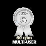 Multi-User 60cpm - Level 5