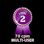 Multi-User 70cpm - Level 2