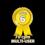 Multi-User 70cpm - Level 6