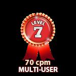 Multi-User 70cpm - Level 7