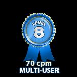 Multi-User 70cpm - Level 8