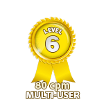 Multi-User 80cpm - Level 6