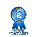 Multi-User 80cpm - Level 8