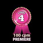 Premiere 100cpm - Level 4