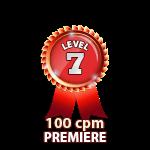 Premiere 100cpm - Level 7
