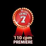 Premiere 110cpm - Level 7