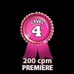 Premiere 200cpm - Level 4