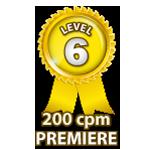 Premiere 200cpm - Level 6