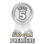 Premiere 500cpm - Level 5