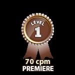 Premiere 70cpm - Level 1