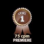Premiere 75cpm - Level 1