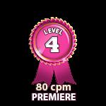 Premiere 80cpm - Level 4