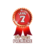 Premiere 80cpm - Level 7