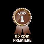 Premiere 85cpm - Level 1