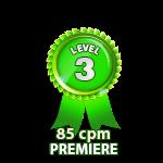 Premiere 85cpm - Level 3
