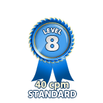 Standard 40cpm - Level 8