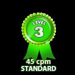 Standard 45cpm - Level 3
