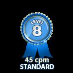 Standard 45cpm - Level 8