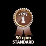 Standard 50cpm - Level 1