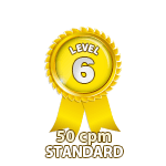 Standard 50cpm - Level 6