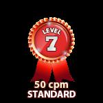 Standard 50cpm - Level 7
