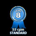 Standard 55cpm - Level 8