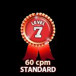 Standard 60cpm - Level 7