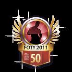 FOTY 2011 top 50 Guys