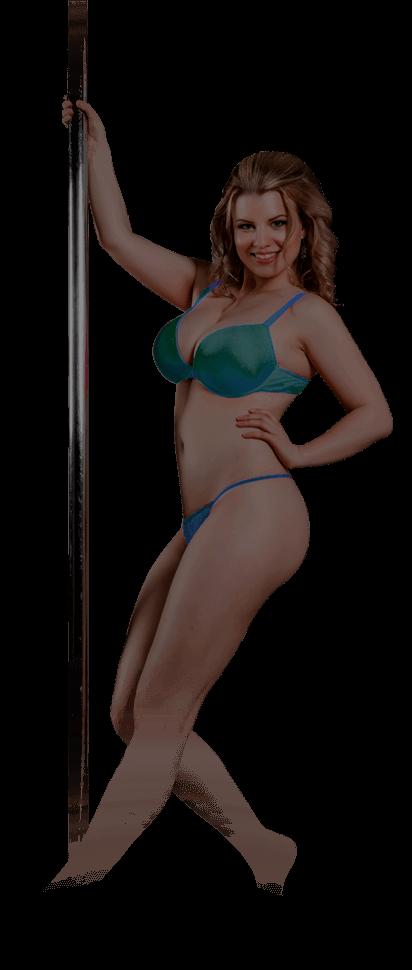blonde strip model