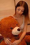 Play time with my TeddyBear