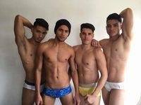 Kabir & Toby & Facundo & Zabi