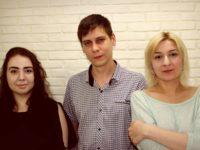 Helena Blond & Mitchell Daze & Lina Bush