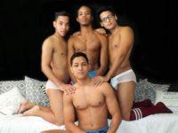 Damian & Douglas & Wilfred & Michael